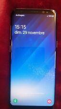 """Samsung Galaxy S8 SM-G950F Noir 64 Go Désimlocké Android Smartphone 5,8"""""""