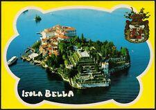 AD4648 Isola Bella (VB) - Panorama dall'alto - Cartolina postale - Postcard