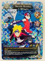 x1 Naruto//Boruto Card Game Hidan Full Art Foil NB01-38-B Chrono Clash System