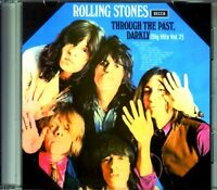 THE ROLLING STONES THROUGH THE PAST DARKLY BIG HITS VOL.2 DECCA CD COMPILATION