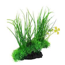 Artificial Ornament Green Underwater Plant Fish Tank Aquarium Decor