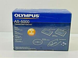 Olympus AS-5000 Transcription Kit - UNTESTED!!!
