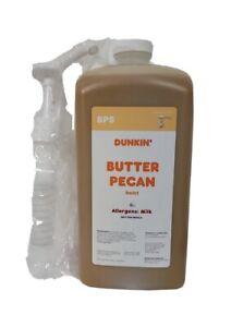 Dunkin Donuts Butter Pecan Swirl 64 Oz Jug With Pump