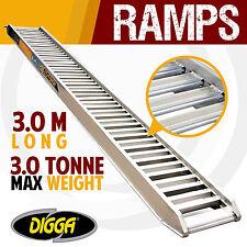 NEW Digga 3 Tonne Aluminium Loading Ramps - Truck Excavator Skid Steer Bobcat