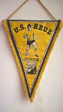 Vintage Fanion U.S. Bruz Bretagne Football Foot 28 cm x 20 cm