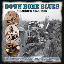 Various Blues(4CD Album)Down Home Blues Classics 1943-1953-Boulevard-BV-New