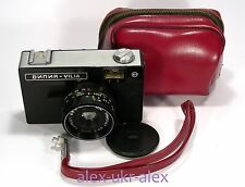 Russian Vilia 35-mm film camera.Excellent.CLA.№2006589