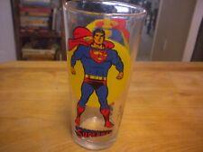 Vintage Pepsi Super Series Glass Superman D.C Comics 1976
