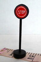 Christmas Victorian Village  Stop Sign Grandeur Noel  Miniature Decoratives