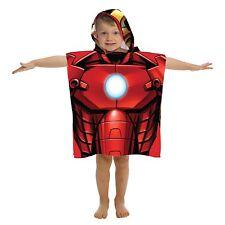 Marvel Avengers Ironman Hooded Bath Beach Poncho Towel