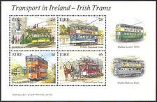 Irlanda 1987 TRAM/trasporto pubblico/Cavalli/Ferrovia/BUS/AUTOMOBILISMO 4 V M/S (n14150a)