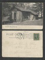 1907 GRANTS CABIN FAIRMONT PARK PHILADELPHIA PA UDB UNDIVIDED BACK POSTCARD
