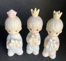 1982 Enesco Precious Moments Wee Three Kings Set Item# 213624 New In Box