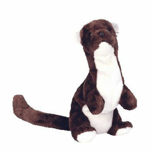 TY Beanie Baby - RUNNER the Ferret (7.5 inch) - MWMTs Stuffed Animal Toy