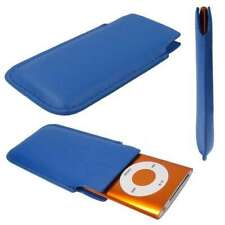 caseroxx Pouch for Apple iPod Nano 4G/5G in blue made of faux leather