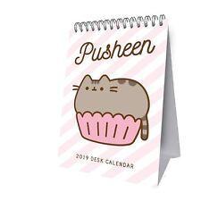 Official 2019 Pusheen Desk Easel Calendar Gift Present Table Flip Standing