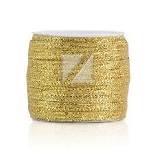 25/50Yards Gold/Silver Organza Ribbon Wedding Favors 3/6/10/15/20/25/38/50mm