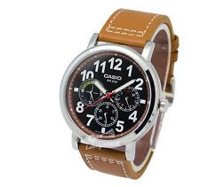-Casio MTPE309L-5A Men's Strap Fashion Watch Brand New & 100% Authentic