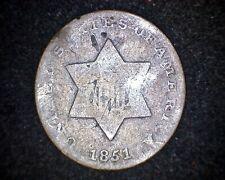 1851 THREE CENT SILVER #19863