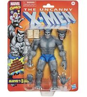 NEW IN STOCK! X-Men Marvel Legends Series Retro 6-inch Gray Beast AF By Hasbro