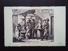 CPA ANCIEN PARIS MARCHANDE DE LEGUMES EN 1780