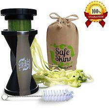 Vegetable Spiral Slicer Spiralizer Zucchini Spaghetti Pasta Noodle Maker Cutter