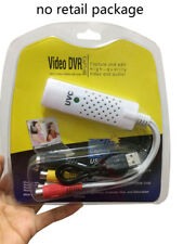 USB 2.0 UVC Video Audio Capture Card Adapter VHS to DVD Capture Win7/8/10