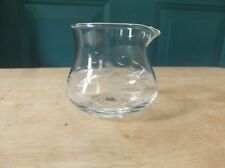 Princess House Heritage Clear Glass Jam/Jelly Container