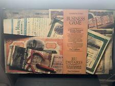 Business Game Board Game Vintage Complete Waddingtons Mine a Million 1965