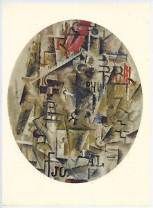 """Georges Braque """"La bouteille de rhum"""""""
