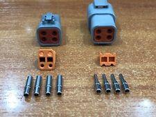 Deutsch DTP 4 Pin Connector Kit - 12 -14 AWG