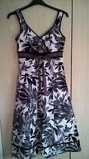 Per Una  Black, white grey dress size 10 Long Tall