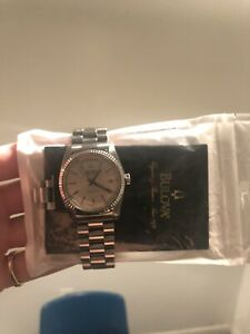 (BEST) Bulova Super Seville With Papers Stainless Steel Day Date Homage