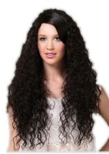High Quality Blush Nova Onyx Black Long Curly Costume Wig Adult Fantasy Style