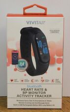New Sealed Vivitar Bluetooth Heart Rate & BP Monitor Activity Tracker
