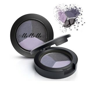 ELEGANT EYES EYESHADOW TRIO COMPACT Matt Shimmer Glitter Bold Eye Makeup Palette