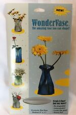 Wonder Vase, Reusable Flower Vase You Can Shape & Reshape Frosted Clear - Medium