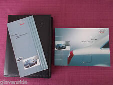 AUDI A4 SALOON (2000 - 2004) USER MANUAL - OWNERS GUIDE - HANDBOOK. (ACQ 4746)