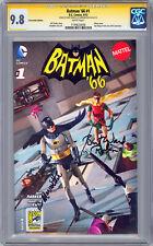 BATMAN '66 #1 CGC-SS 9.8 SIGNED BURT WARD & LEE MERIWETHER SDCC EXCLUSIVE 2013