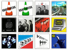 KRAFTWERK COLLECTION OF 12 FRIDGE MAGNET LP COVERS IMANES NEVERA