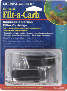 Filt A Carb for Multi-Pore and Under Gravel E Filter FC2  (2 Pack) 2pk