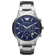 Emporio Armani Ar2448 Mens Steel Chronograph Watch