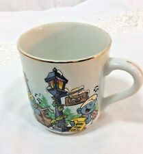 "Smurf Merry Christmas Mug ""The Smurf Carolers"" 1982"