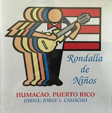 Rondalla De Ninos De Humacao Navidad CD PRT 2000 Puerto Rico MINT