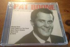 On the Sentimental Side Pat Boone CD Import Australia Sealed 2004 Mra 16 tracks