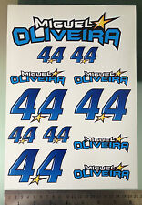Miguel Oliveira #44 Stickers Decals - Sticker kit (A4 Size)