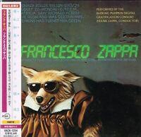 """Frank Zappa  """"Francesco Zappa"""" Japan LTD Mini LP CD w/OBI"""