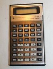 Vintage 1970s Texas Instruments Ti-50 Memory Slimline Calculator - l