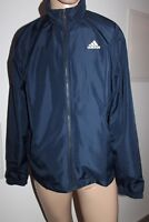 Adidas 3S Men's Track Suit Top Jacket Navy Blue Size S NEW WITH LABEL