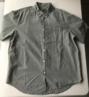 Men's Eddie Bauer Short Sleeve Plaid Shirt Pre-Owned Size XL